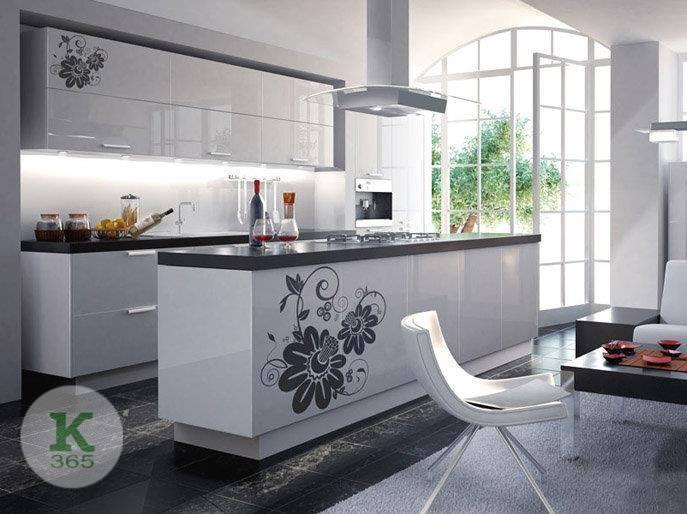 Кухня с островом Жемчужный ясень артикул: 0001019697