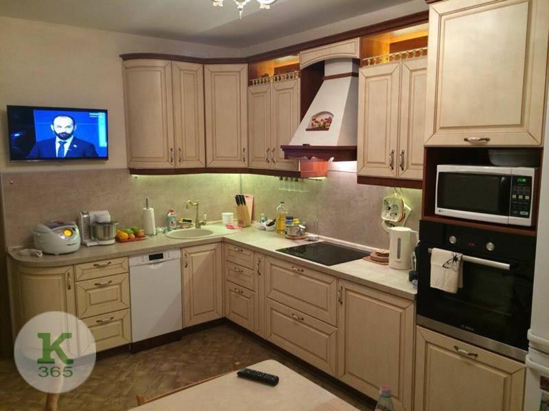 Кухня из массива Вишня в шоколаде артикул: 000102464