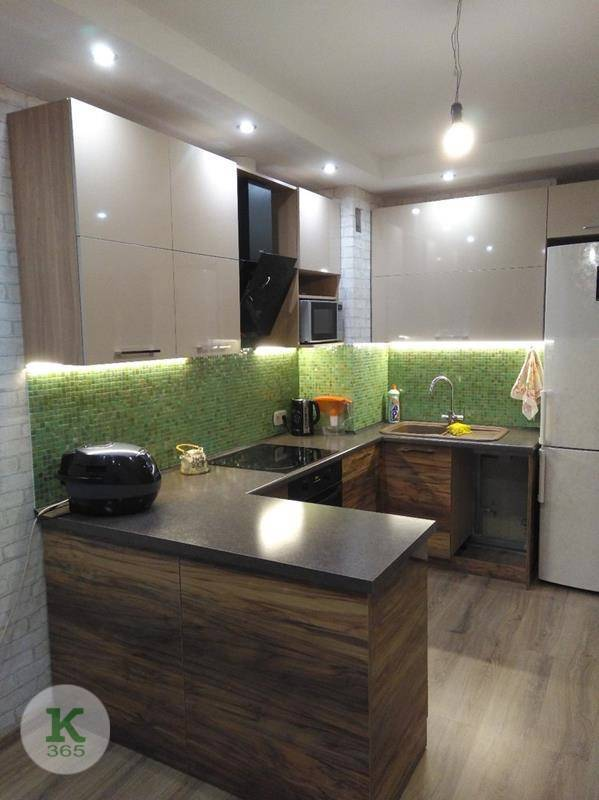 Кухня угловая левая Нибиру артикул: 000170156