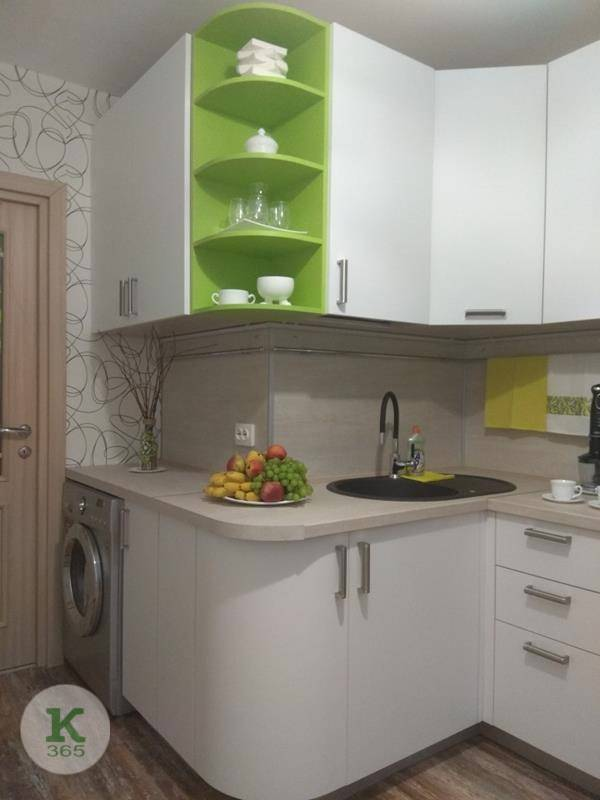 Угловая кухня Лебеди артикул: 000300085