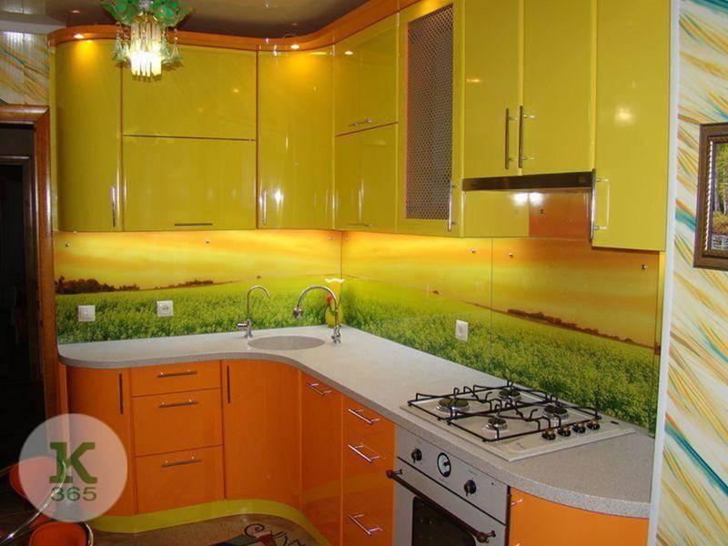 Кухня с фотопечатью Раунд артикул: 324013