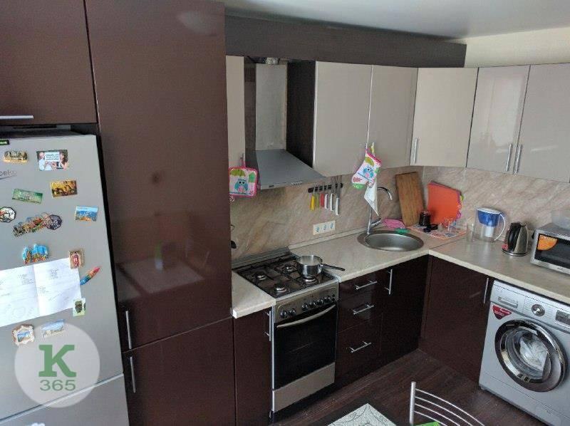 Кухня с колонкой Афина Неро артикул: 00061256
