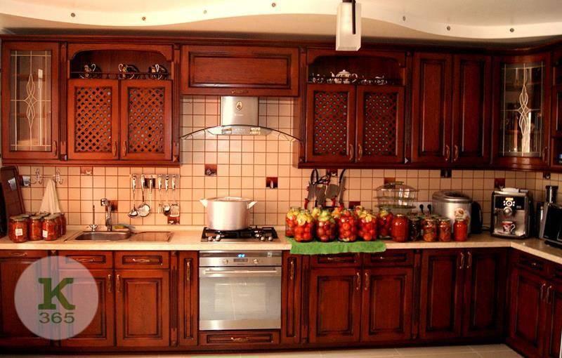 Кухня из массива Ринна Гласс артикул: 70313