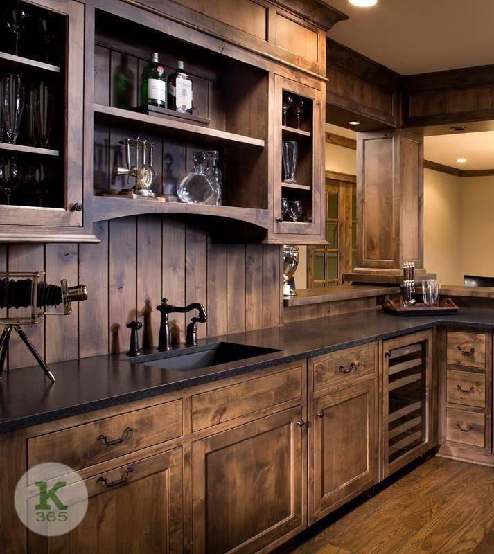 Кухня из дерева Виталия артикул: 73728