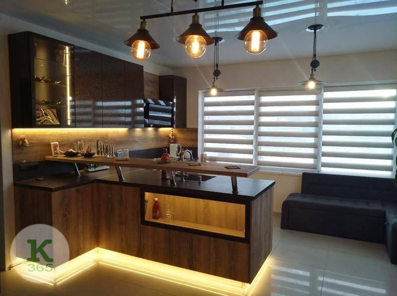 Кухня угловая правая Плаза Лайн артикул: 000915849