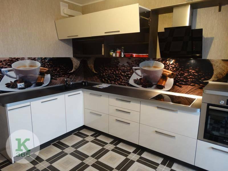 Кухня угловая левая Пламенный грейпфрут артикул: 00096224
